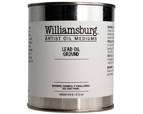 above ground art supplies williamsburg lead oil ground 473ml